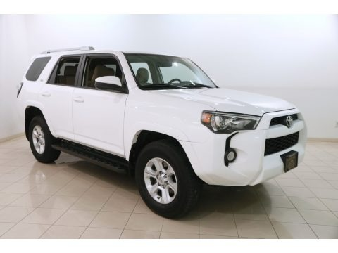 Super White 2016 Toyota 4Runner SR5 4x4