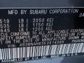 Subaru Legacy 2.5i Limited Magnetite Gray Metallic photo #9