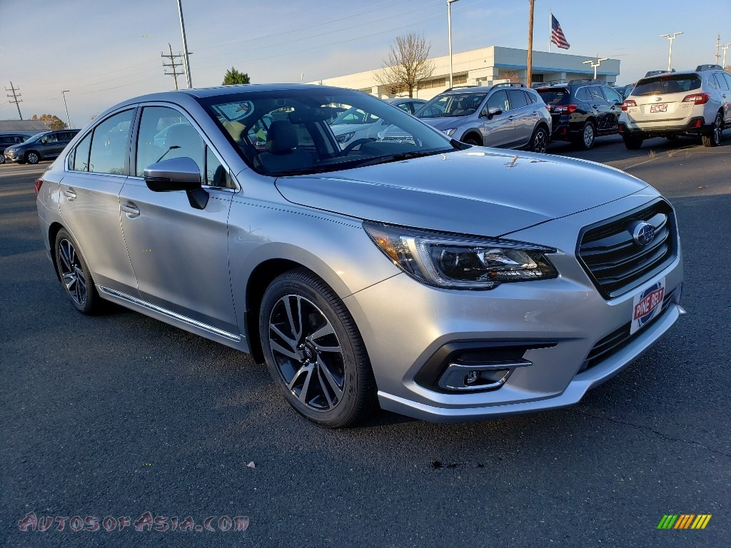 2019 Legacy 2.5i Sport - Ice Silver Metallic / Two-Tone Gray photo #1