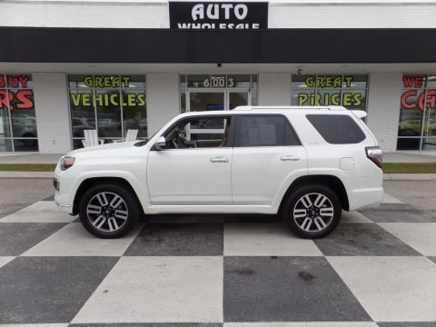 Blizzard White Pearl 2018 Toyota 4Runner Limited