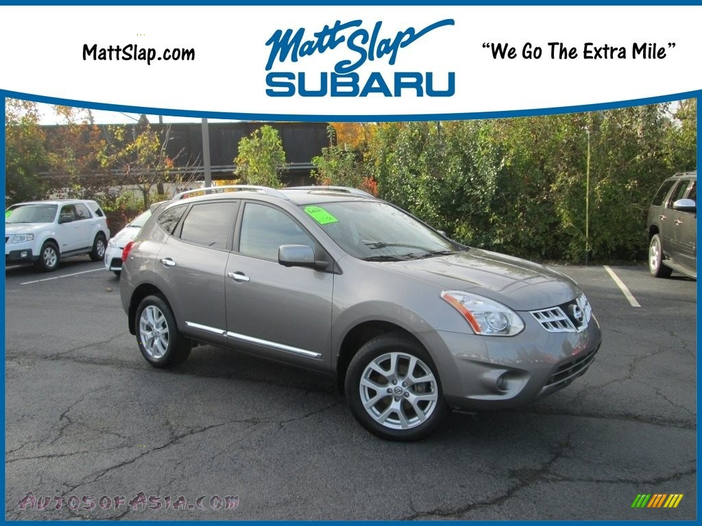 Platinum Graphite / Black Nissan Rogue SL AWD
