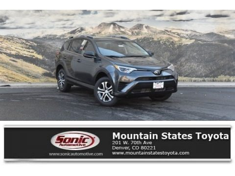 Magnetic Gray Metallic 2018 Toyota RAV4 LE