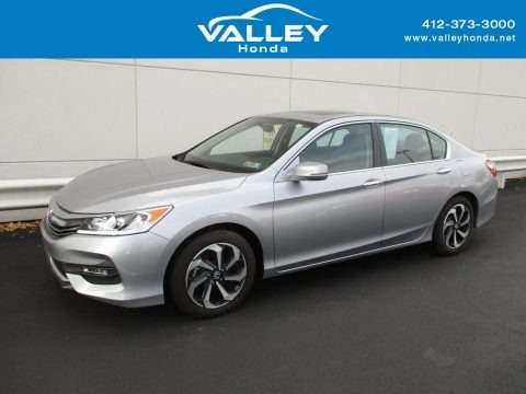 Lunar Silver Metallic 2016 Honda Accord EX Sedan