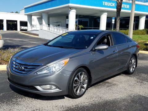 Harbor Gray Metallic 2013 Hyundai Sonata Limited 2.0T