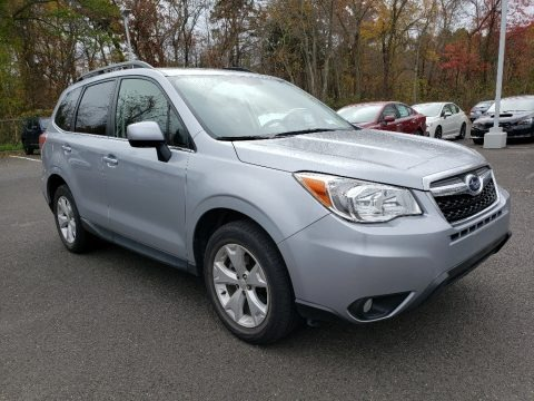Ice Silver Metallic 2015 Subaru Forester 2.5i Limited