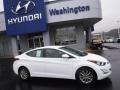 Hyundai Elantra SE White photo #2