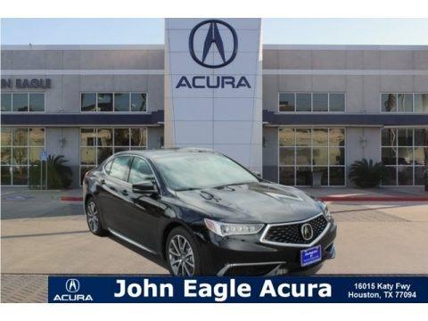 Crystal Black Pearl 2019 Acura TLX V6 Sedan