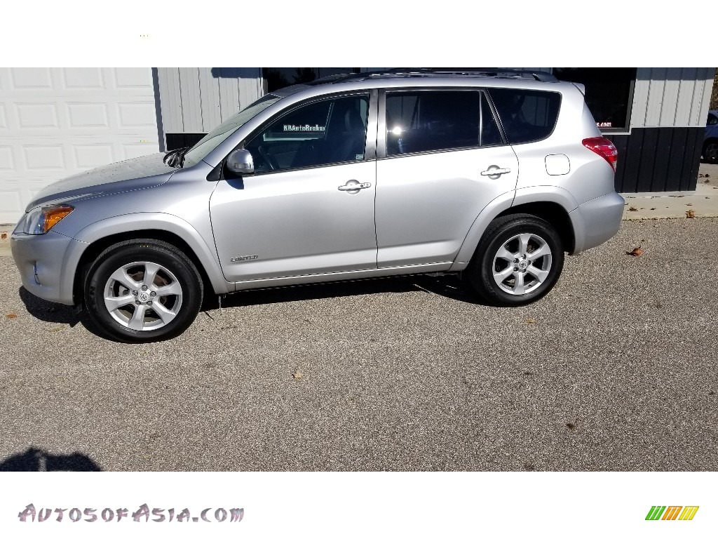 2011 RAV4 Limited 4WD - Classic Silver Metallic / Ash photo #1