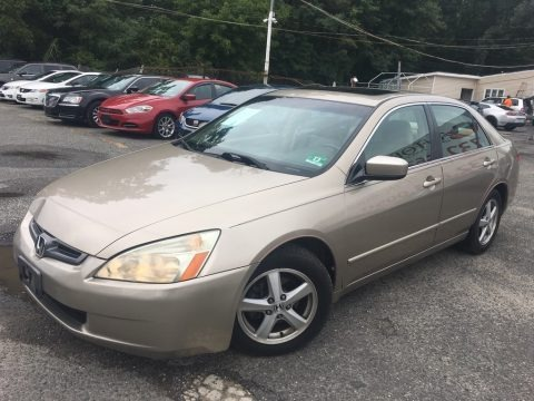 Desert Mist Metallic 2003 Honda Accord EX Sedan