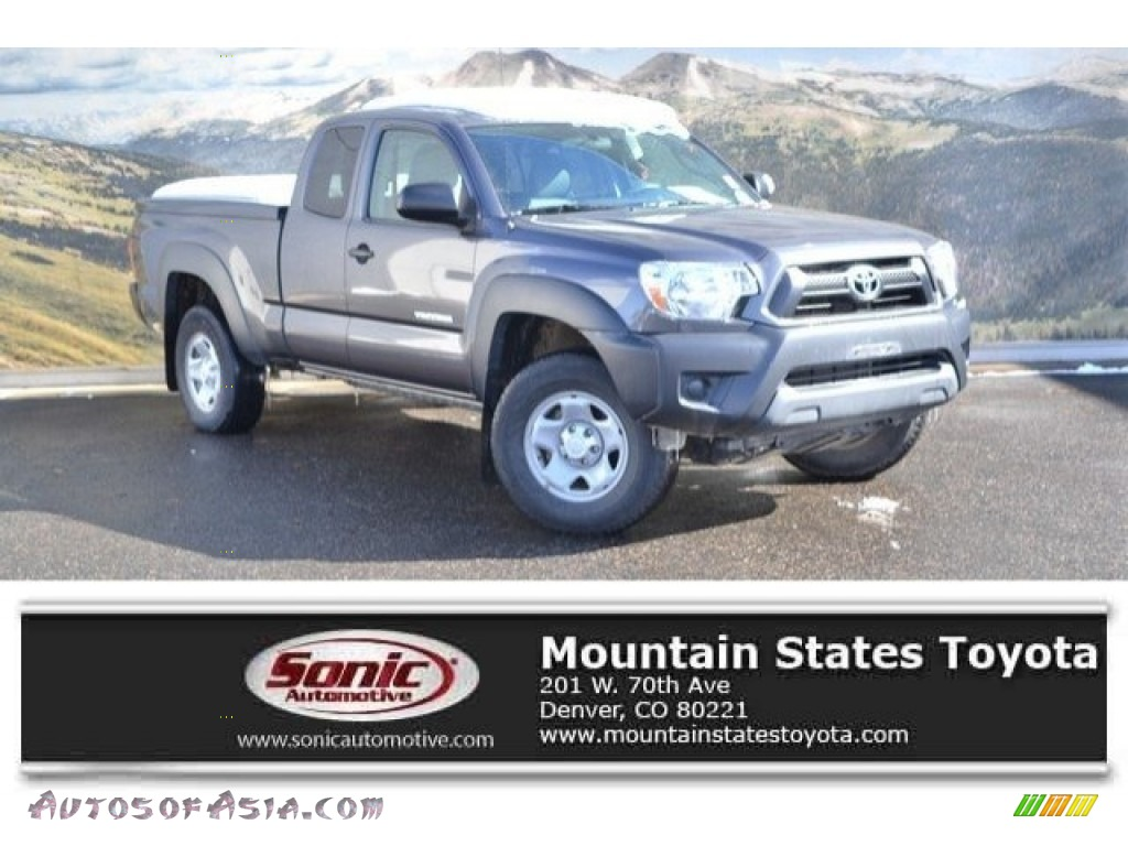 2014 Tacoma Access Cab 4x4 - Magnetic Gray Metallic / Graphite photo #1