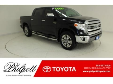 Midnight Black Metallic 2017 Toyota Tundra 1794 CrewMax 4x4