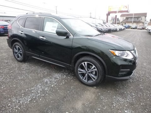Magnetic Black 2019 Nissan Rogue SV AWD