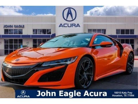 Thermal Orange Pearl 2019 Acura NSX
