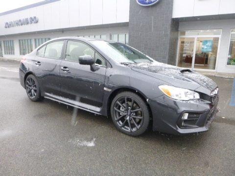 Dark Gray Metallic 2019 Subaru WRX Premium