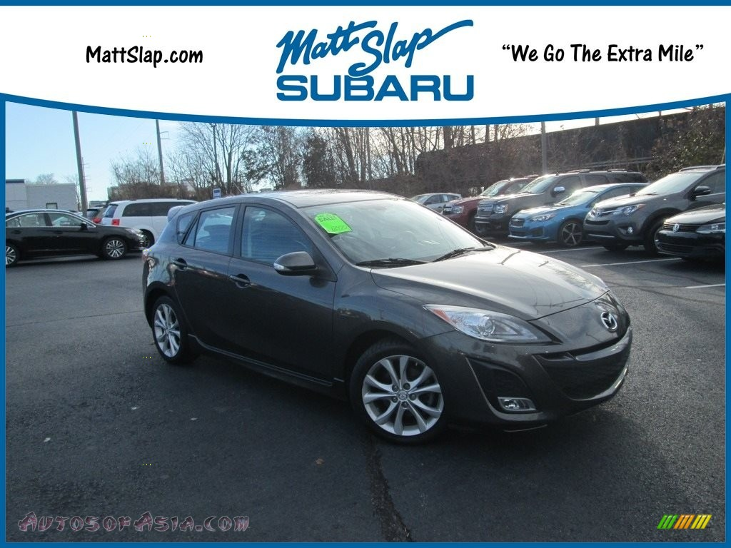 2010 MAZDA3 s Sport 5 Door - Graphite Mica / Black photo #1