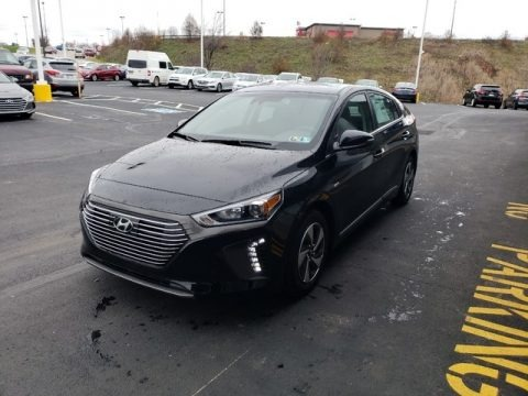 Black Noir Pearl 2019 Hyundai Ioniq Hybrid SEL