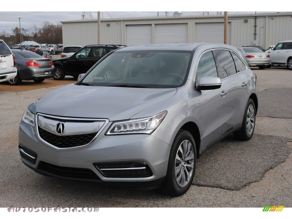 2016 MDX Technology - Lunar Silver Metallic / Graystone photo #1