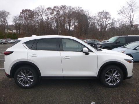 Snowflake White Pearl Mica 2019 Mazda CX-5 Grand Touring AWD