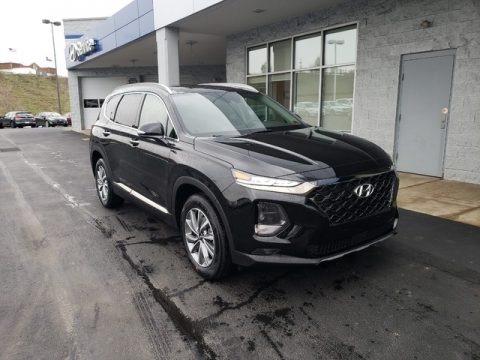 Twilight Black 2019 Hyundai Santa Fe Limited AWD
