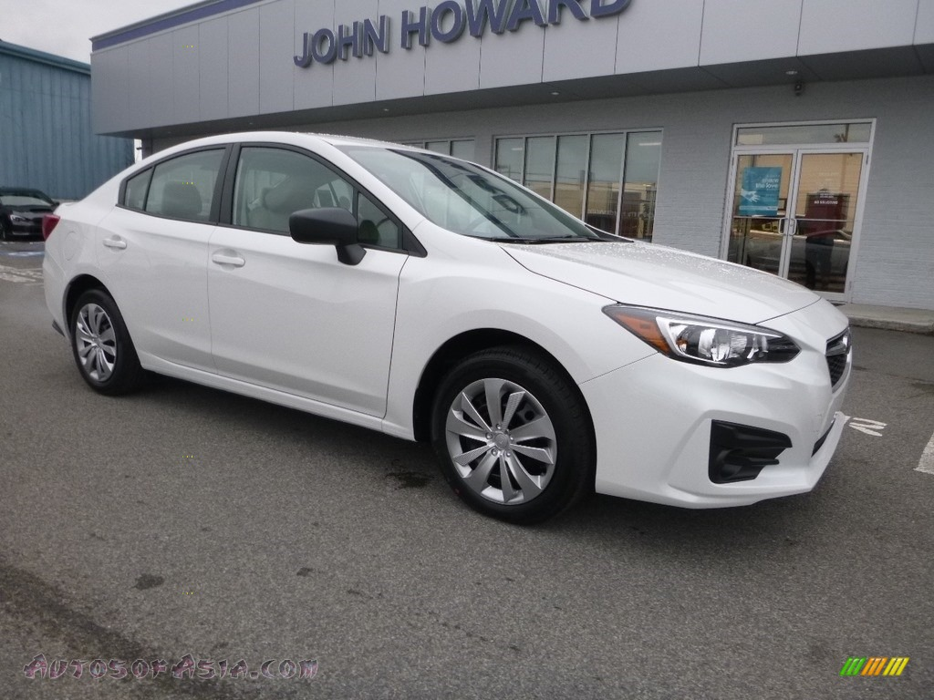 2019 Impreza 2.0i 4-Door - Crystal White Pearl / Ivory photo #1