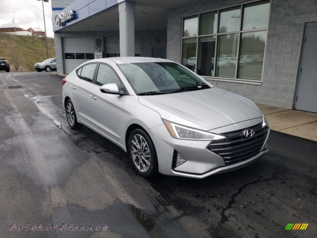 2019 Elantra Limited - Symphony Silver / Black photo #1