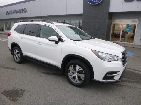 Crystal White Pearl 2019 Subaru Ascent Premium
