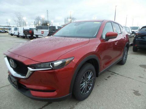 Soul Red Crystal Metallic 2019 Mazda CX-5 Touring AWD
