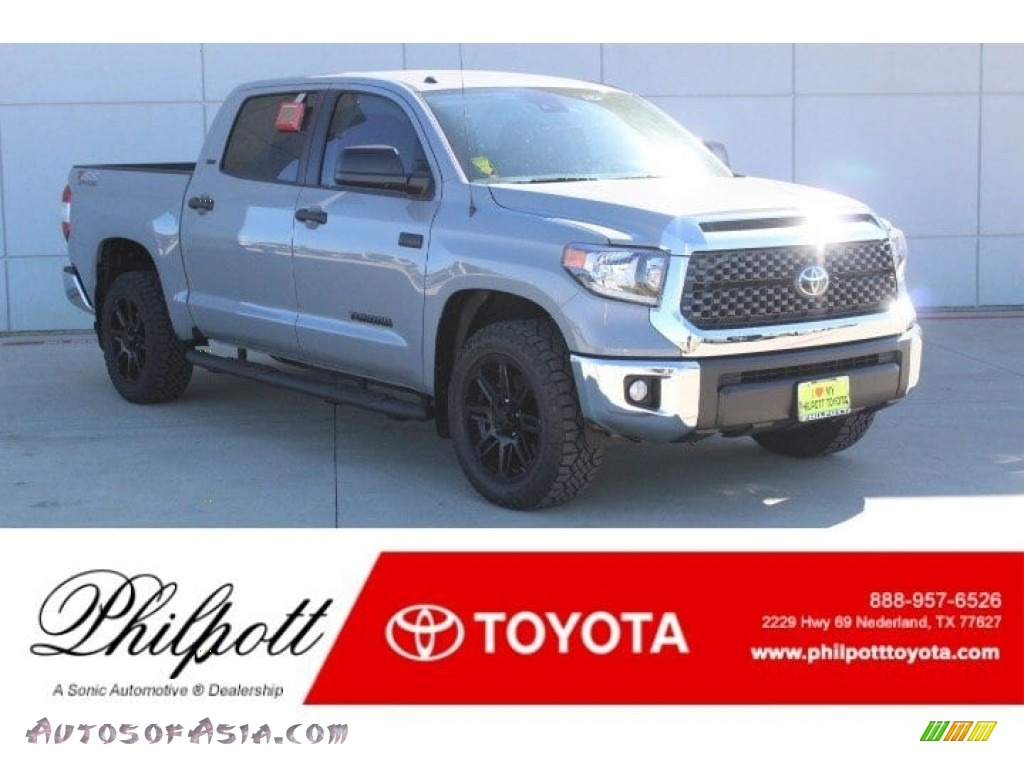 Cement / Black Toyota Tundra TSS Off Road CrewMax