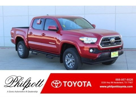 Barcelona Red Metallic 2019 Toyota Tacoma SR5 Double Cab