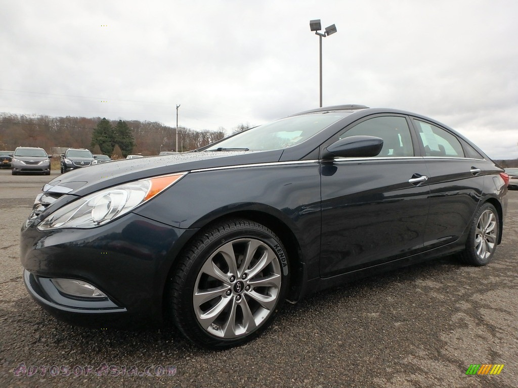 2013 Sonata SE - Pacific Blue Pearl / Gray photo #1