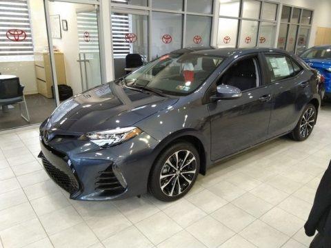 Slate Metallic 2019 Toyota Corolla SE