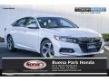 Honda Accord EX Sedan Platinum White Pearl photo #1