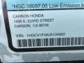 Honda Accord EX Sedan Platinum White Pearl photo #11