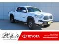 Toyota Tacoma TRD Off-Road Double Cab 4x4 Super White photo #1