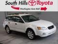 Subaru Outback 2.5i Wagon Satin White Pearl photo #1