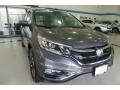 Honda CR-V Touring AWD Modern Steel Metallic photo #6