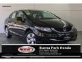 Honda Civic LX Sedan Crystal Black Pearl photo #1