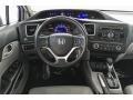 Honda Civic LX Sedan Crystal Black Pearl photo #4