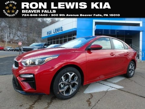Currant Red 2019 Kia Forte LXS
