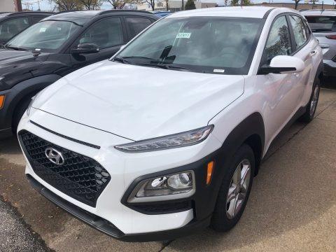 Chalk White 2019 Hyundai Kona SEL AWD