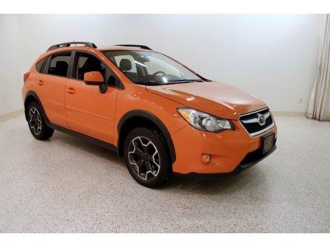 Tangerine Orange Pearl 2013 Subaru XV Crosstrek 2.0 Limited