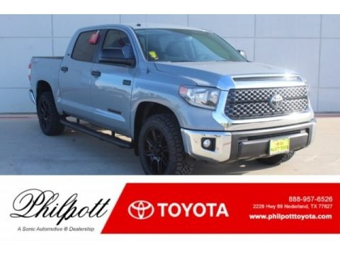 Cement 2019 Toyota Tundra TSS Off Road CrewMax