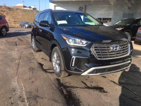 Becketts Black 2019 Hyundai Santa Fe XL SE AWD