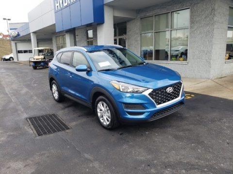Aqua Blue 2019 Hyundai Tucson Value AWD