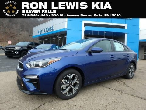Sea Blue 2019 Kia Forte LXS