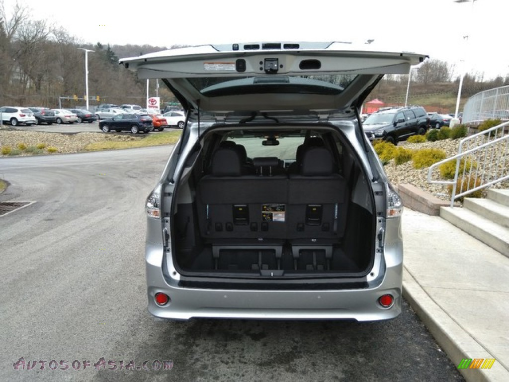 2019 Sienna SE - Celestial Silver Metallic / Ash photo #6