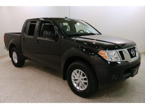 Magnetic Black 2018 Nissan Frontier SV Crew Cab 4x4