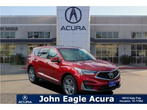 Performance Red Pearl 2019 Acura RDX Advance