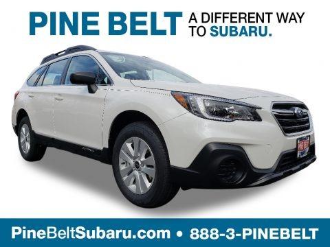 Crystal White Pearl 2019 Subaru Outback 2.5i