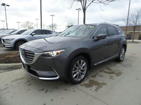Machine Gray Metallic 2019 Mazda CX-9 Signature AWD